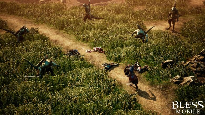 «Bless Mobile»— масштабная фэнтезийная ММО, разрабатываемая на Unreal Engine 4