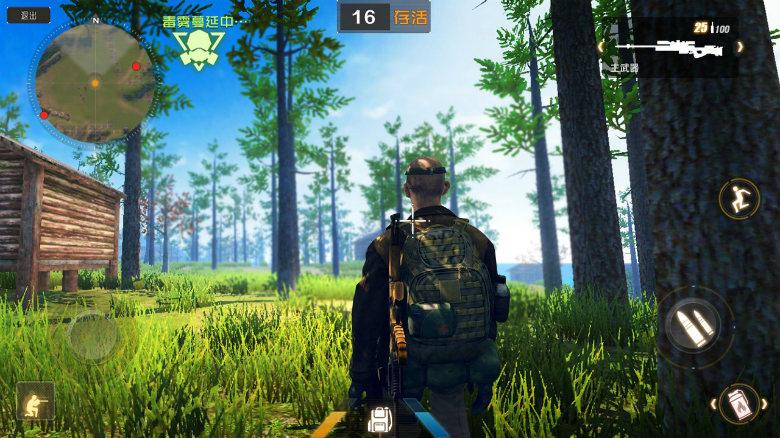 «Law of the Jungle» — мобильный аналог популярной «PlayerUnknown's Battlegrounds»