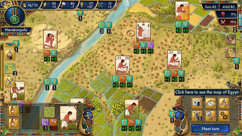 Исторически достоверная пошаговая стратегия «Predynastic Egypt» вышла в App Store