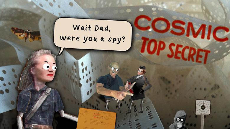 «Cosmic Top Secret» – необычная автобиографическая адвенчура появится в ноябре