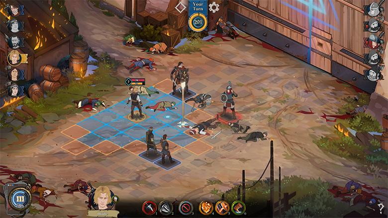 Близится релиз тактической RPG «Ash Of Gods», так напоминающей «The Banner Saga»