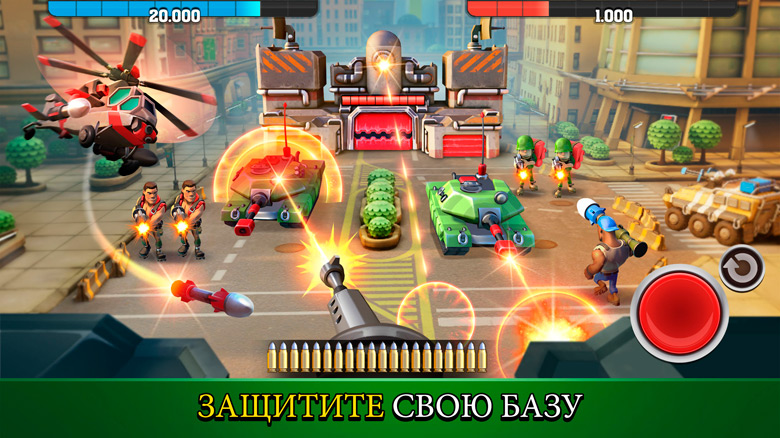 Состоялся релиз стратегия с элементами FPS «Mighty Battles» от создателей «Kill Shot»