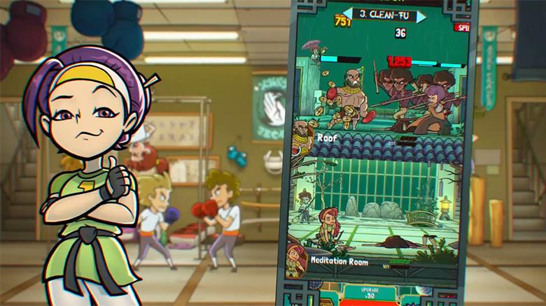 PikPok анонсировала «Kung Fu Clicker», стильный кликер в духе «Dungeon, Inc»