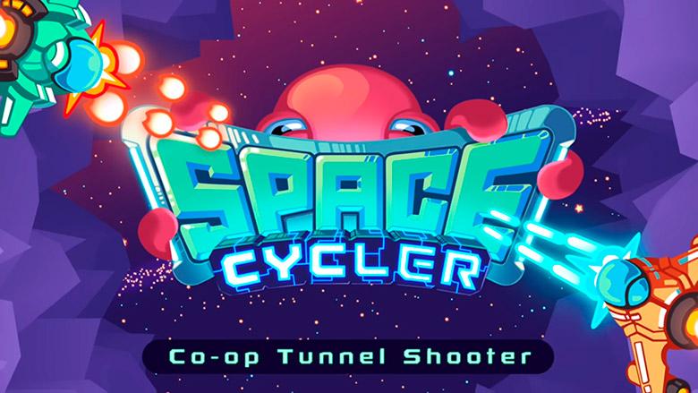 «Space Cycler»: очень красочный shoot'em'up для двоих игроков на вашем устройстве