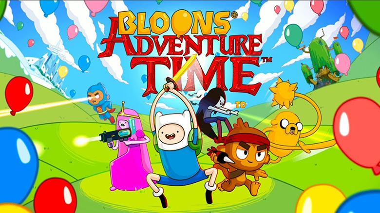 «Bloons Adventure Time TD»: Какое сейчас время, Джейк? Время лопать воздушные шары!