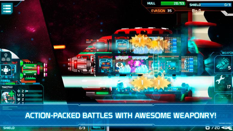 Управляйте своим космическим судном в sci-fi стратегии Panthera Frontier