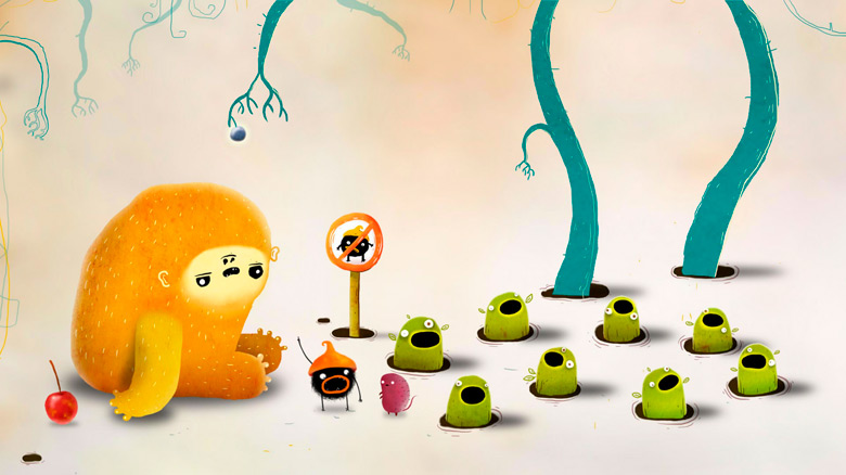 Amanita Design, разработчик серии «Samorost» и «Botanicula», анонсировала новую игру — «CHUCHEL»