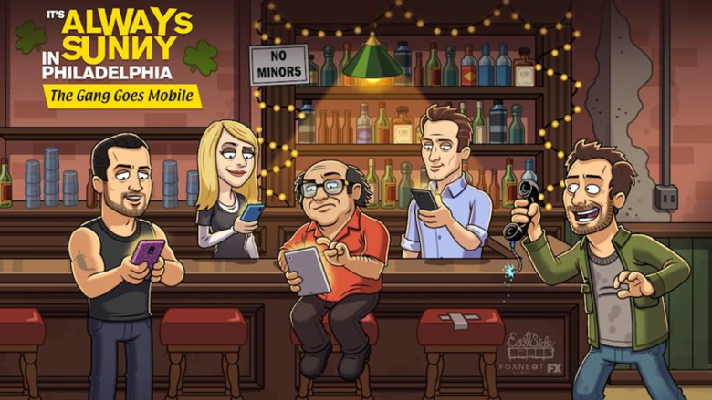 «It's Always Sunny In Philadelphia: The Gang Goes Mobile»: готовится игра по мотивам известного американского сериала
