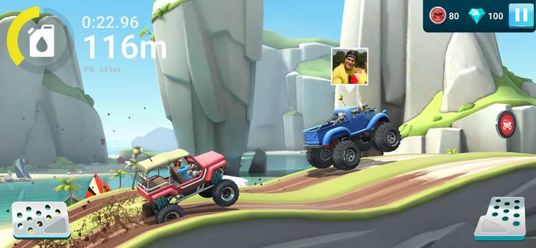 «MMX Hill Dash 2» — гонки с друзьями по бездорожью