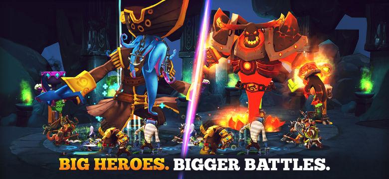 «Giants War» — новая фэнтезийная RPG от Gamevil