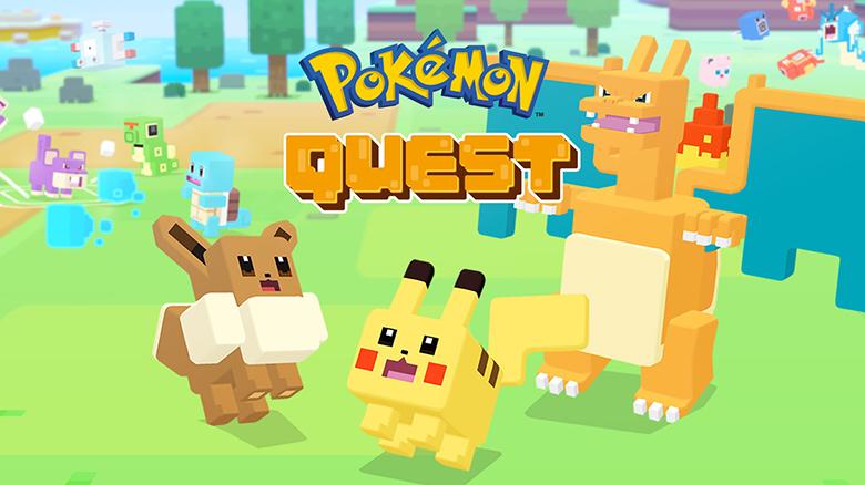 «Pokémon Quest» – поймай их всех!