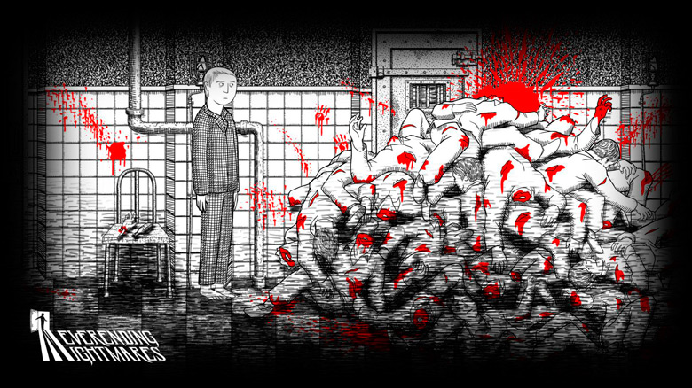 «Neverending Nightmares» – черно-белый психологический хоррор