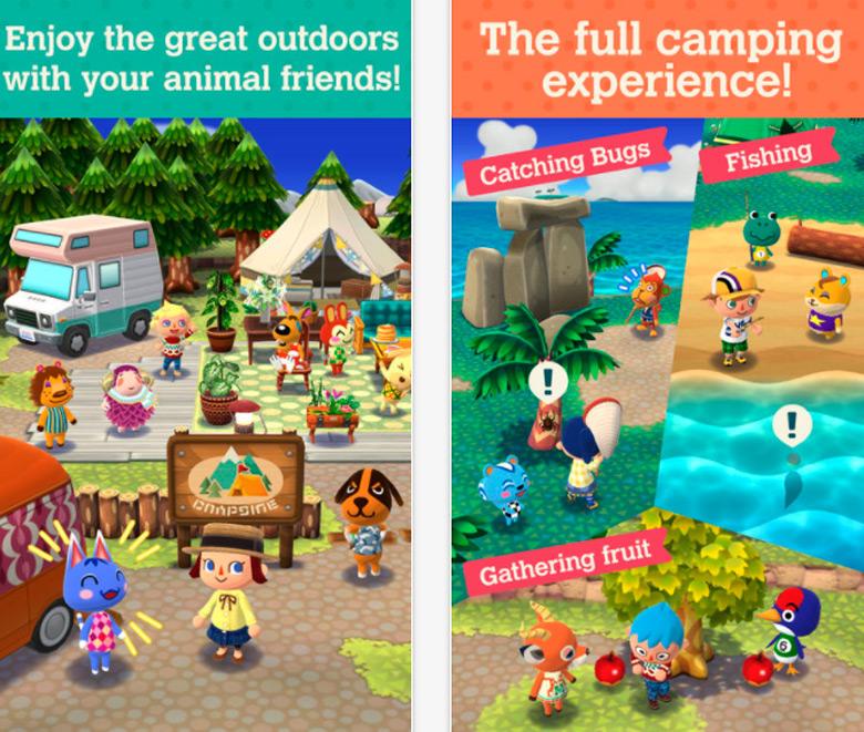 Состоялся мировой релиз «Animal Crossing: Pocket Camp»