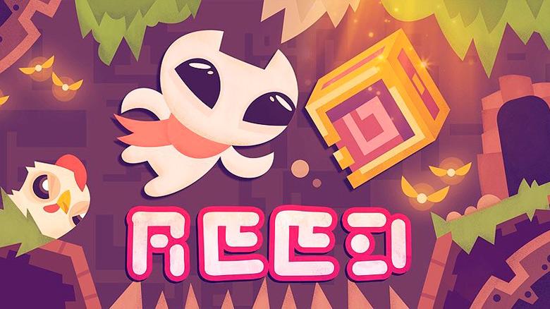 Хардкорный платформер с милым котиком «Reed ^_^» от Crescent Moon Games появился в App Store
