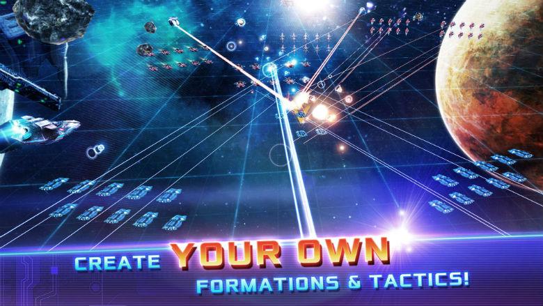 «Over Space» – космическая стратегия с масштабными битвами