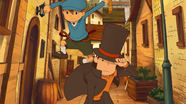 Классический квест «Layton Curious Village in HD» теперь доступен на iOS
