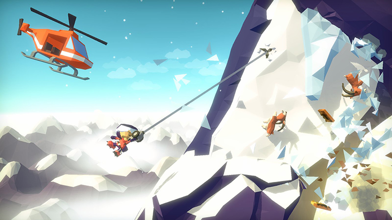 «Hang Line»: начните своё выживание среди гор уже в этом месяце [предзаказ]