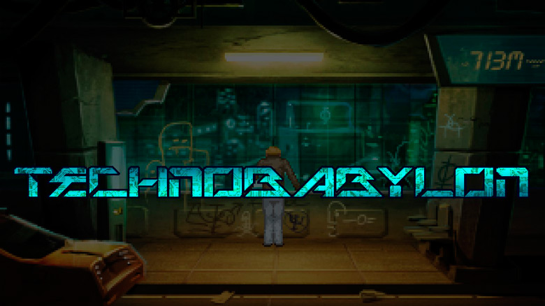 Киберпанк «Technobabylon» от Wadjet Eye Games выйдет в августе