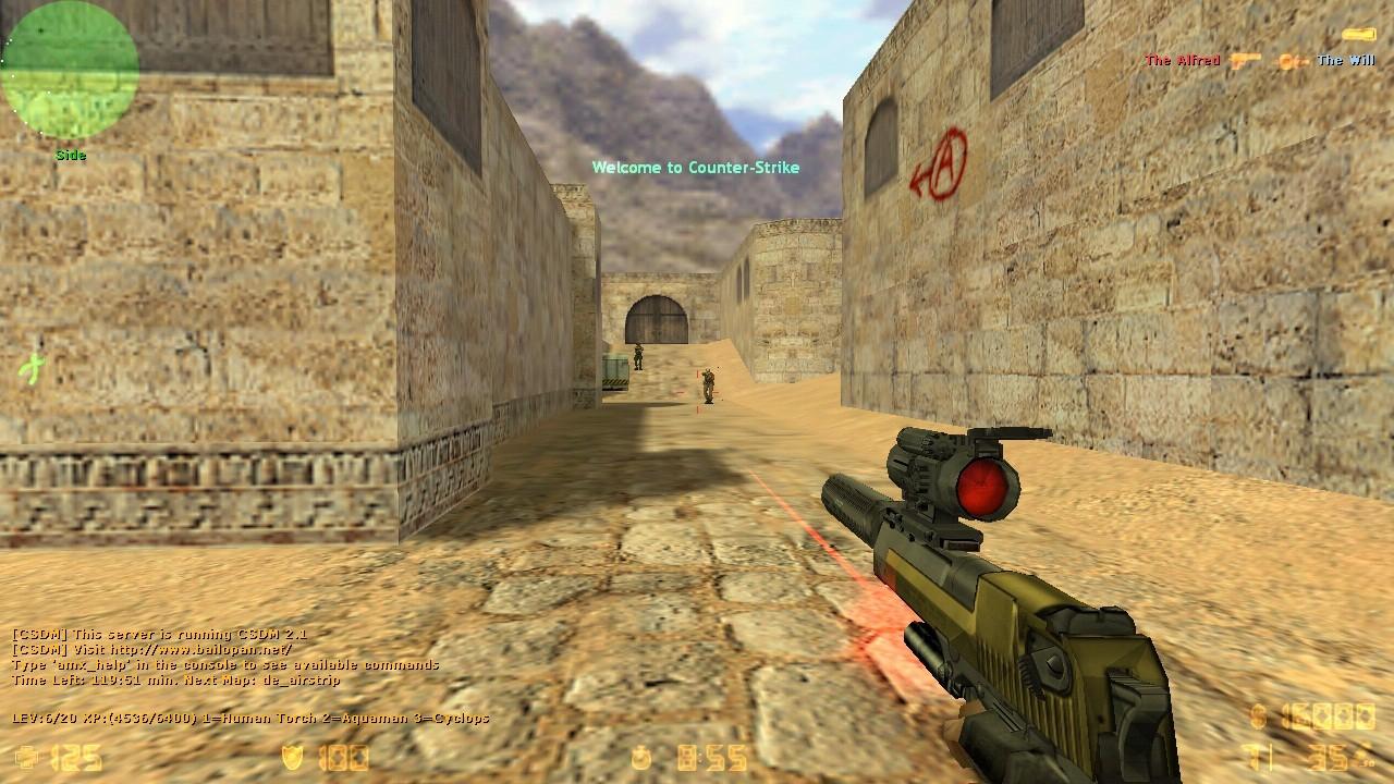 Популярная игра для всех  Counter-Strike