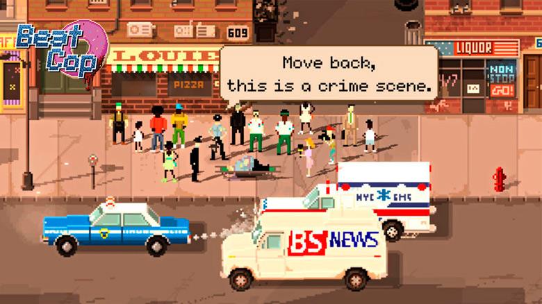 11bit studios передаёт привет 80-м в игре «Beat Cop»