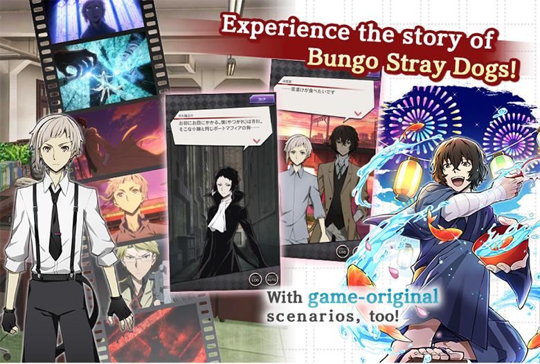 Предварительная регистрация в «Bungo Stray Dogs: Tales of the Lost» уже началась