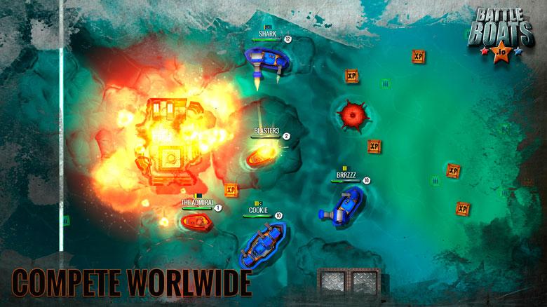 Морские сражения «Battleships.io» теперь на мобильных устройствах
