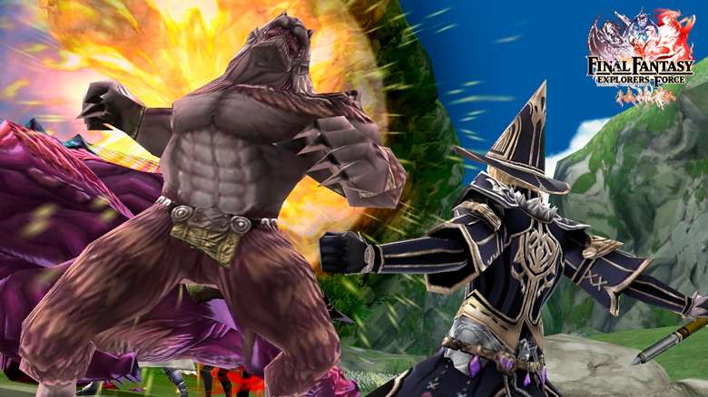 Square Enix готовит к выходу новое MMORPG «Final Fantasy: Explorers Force»