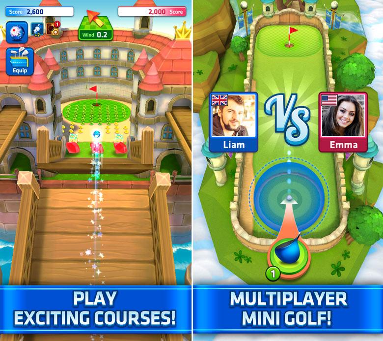 Обновление «Mini Golf King» предлагает нам новые возможности