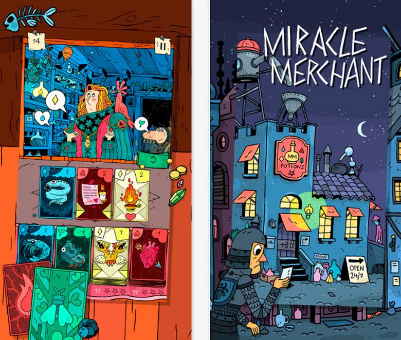 Выход «Miracle Merchant»: карточное зельеварение