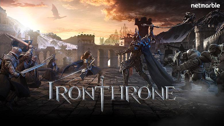 Завоюйте корону в «Iron Throne», предстоящей новой MMO-стратегии от Netmarble