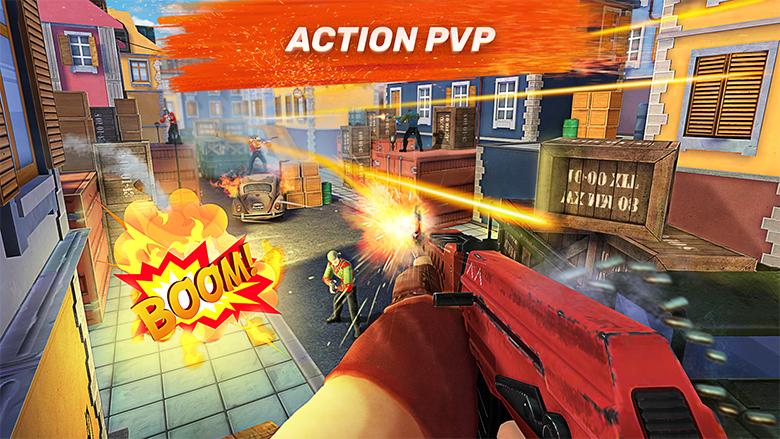 В «Guns of Boom» появился режим наблюдения