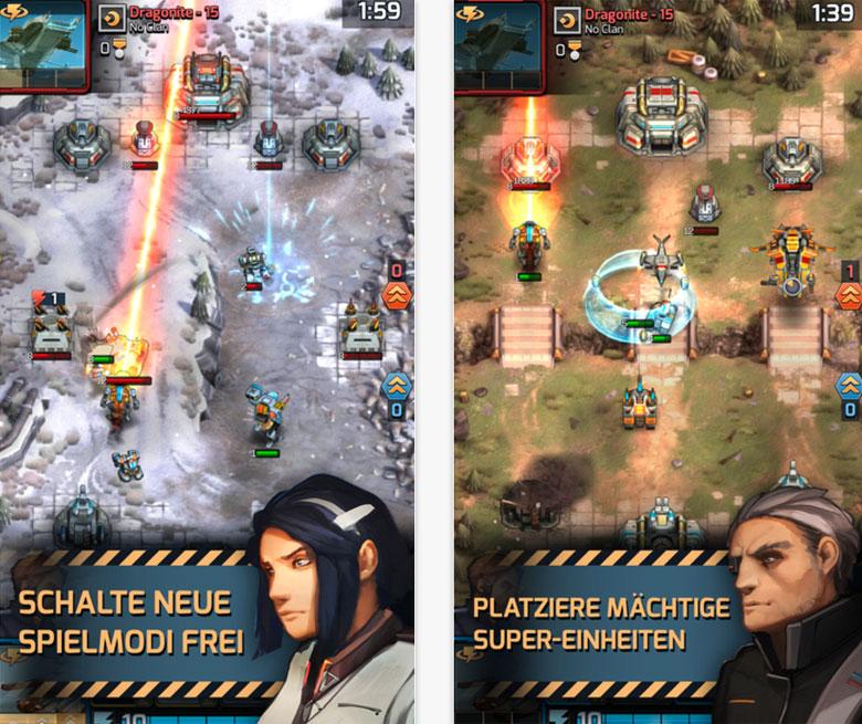 Софт-запуск «Warzone: Clash of Generals» – клона «Clash Royale» в духе «Comand & Conquer»
