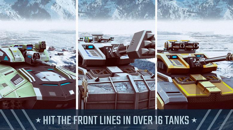 «X-Tanks Battles 3D Tank Shooter Game World War 3»: футуристические танки и Третья мировая
