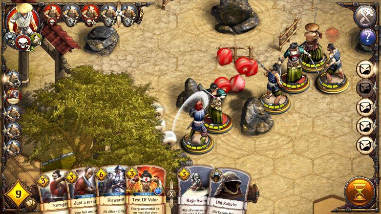 Релиз отличной пошаговой стратегии с миниатюрами «Warbands: Bushido»