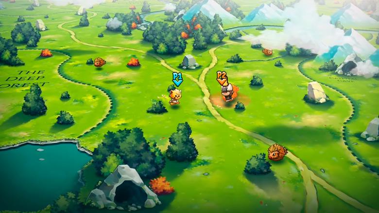 Gentlebros показали первое видео сиквела замурчательной RPG «Cat Quest 2: Lupus Empire»