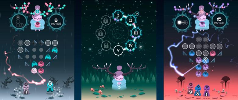 Медитативная головоломка Ruya появилась в App Store