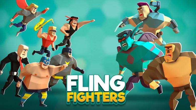 Встречайте необычный файтинг «Fling Fighters» от создателей Overkill