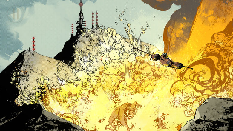 «Wild Blue Yonder» – потрясающая постапокалиптическая визуальная новелла