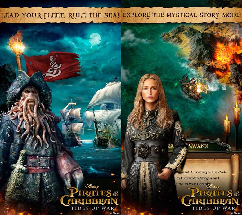 Морская ММО стратегия «Pirates of the Caribbean: Tides of War» добралась до релиза на iOS и Android