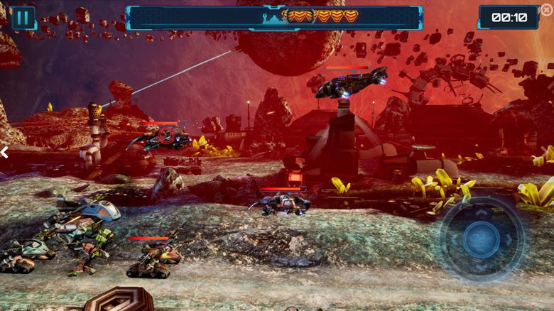 «Red Siren: Space Defense» – защитите свои базы от противника