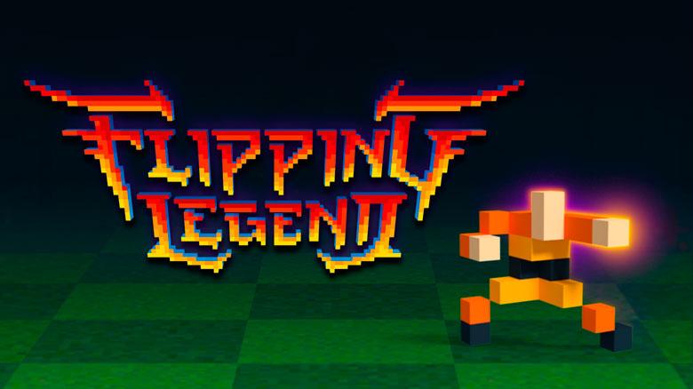 Flipping Legend — необычный раннер Noodlecake Studios