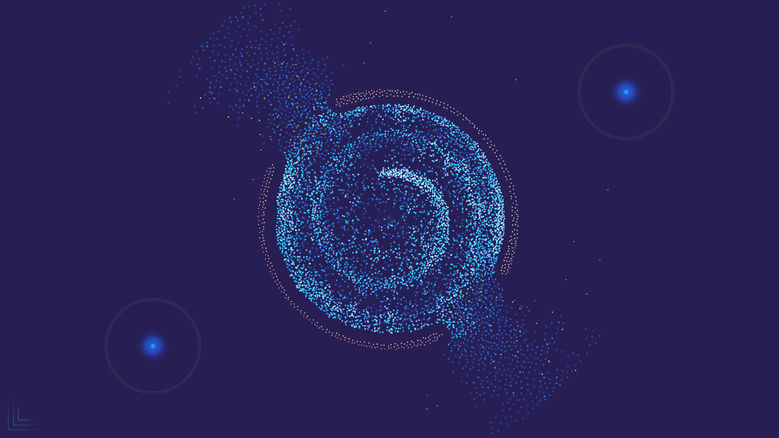 Расслабляющая игра-абстракция «FROST»: космическое путешествие домой
