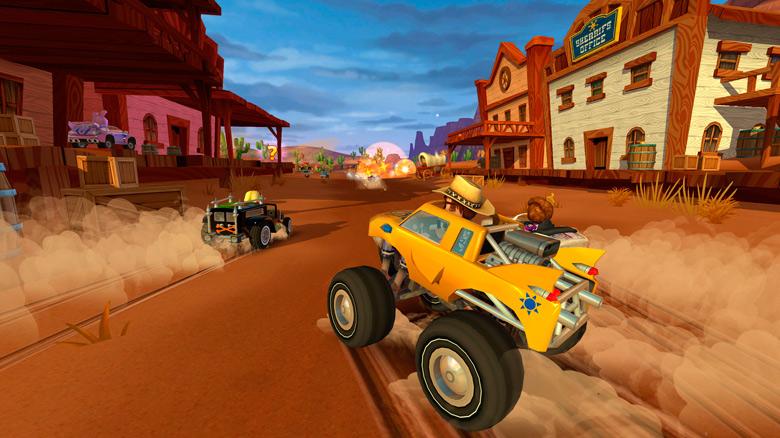 «Beach Buggy Racing 2» – выхватите победу у соперников в честных гонках