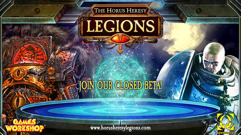 Примите участие в закрытом бета-тесте «The Horus Heresy: Legions» – коллекционной карточной игре по мотивам Warhammer 40.000