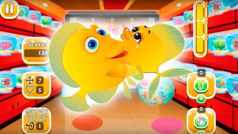 «Pet Fish Rescue» — аквариумистическая match 3 о семейном воссоединении