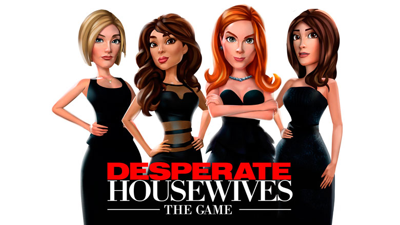 «Desperate Housewives: The Game» — отчаянные домохозяйки в App Store
