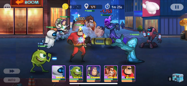 Состоялся релиз «Disney Heroes Battle Mode»: присоединяйтесь к битве с участием героев Disney и Pixar