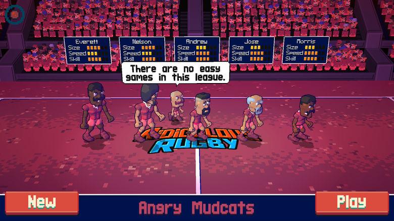«Ridiculous Rugby» – необычное регби от создателей «Super Jump Soccer» [предзаказ]