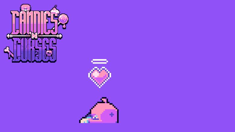 «Candies N' Curses»: пиксельная аркада под издательством Crescent Moon Games готовится к хеллоуинскому релизу