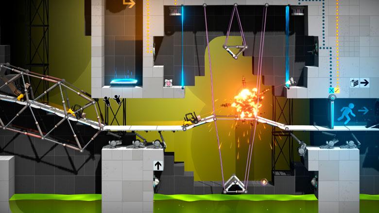 «Bridge Constructor Portal», новая игра известной серии с механикой «Portal», готовится к выходу в декабре